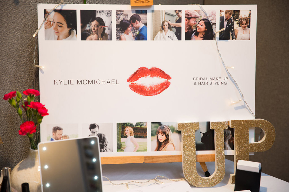 Landmark Wedding Fair Make Up and Hair Supplier Kylie McMichael
