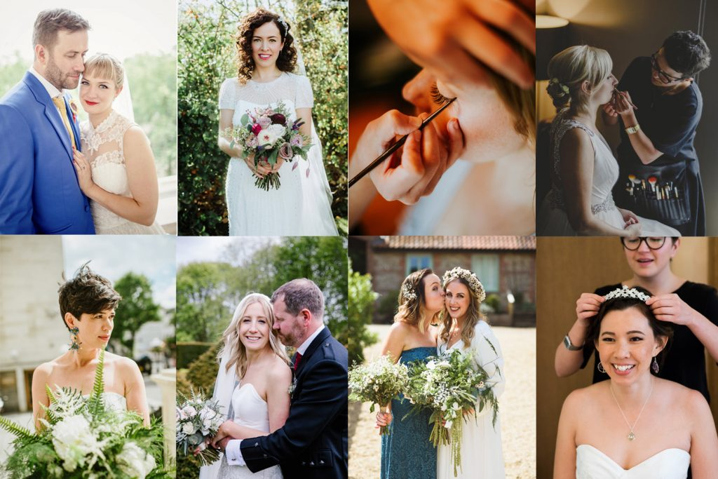 real Bride testimonials for kylie mcmichael luxury makeup artist and hair stylist