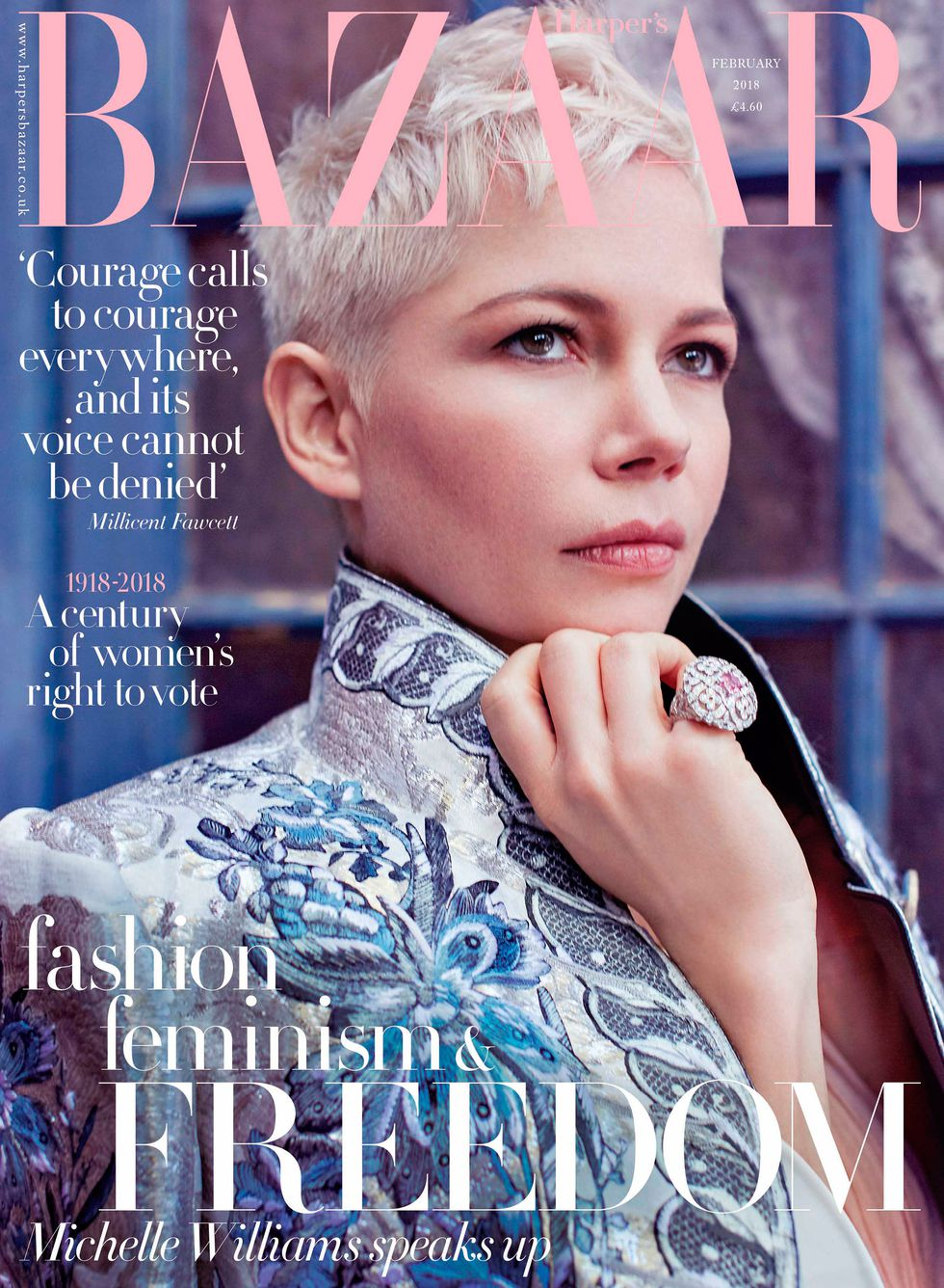michelle williams harpers bazaar AGATA POSPIESZYNSKA