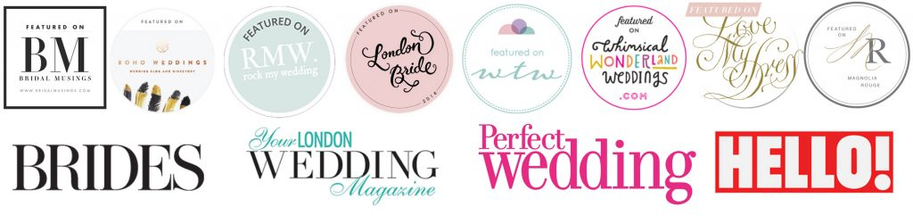 Hampton Court Makeup Artist Kylie McMichael as featured on Bridal Musings, Brides magazine, London Bride, Rock My Wedding, You and Your London Wedding, Perfect Wedding, Hello magazine, Love my Dress, Magnolia Rouge Want that Wedding, Whimsical Wonderland Weddings