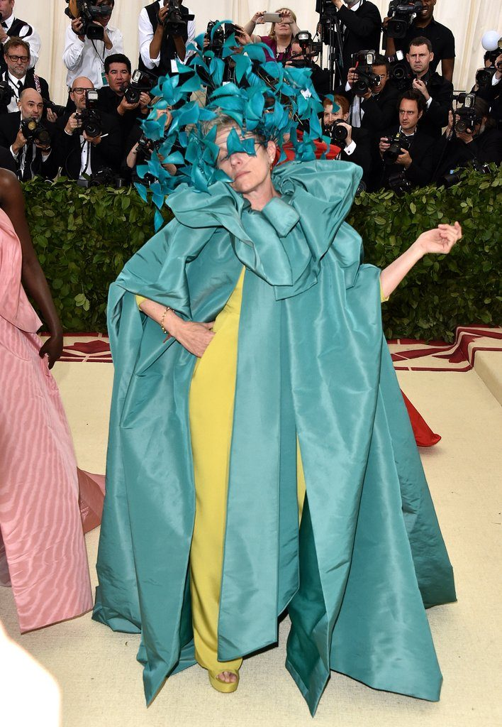 francés mcdormand the met gala 2018