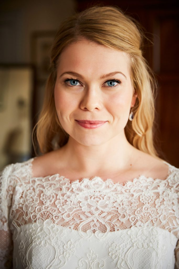 simple elegant bridal makeup and hair mayfair wedding kylie mcmichael