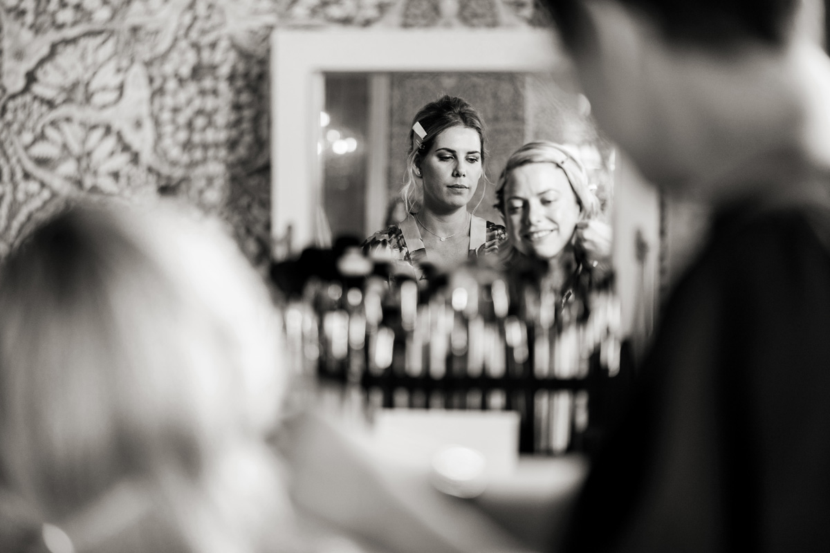bridal prep babington house wedding makeup artist kylie mcmichael allister freeman photographer