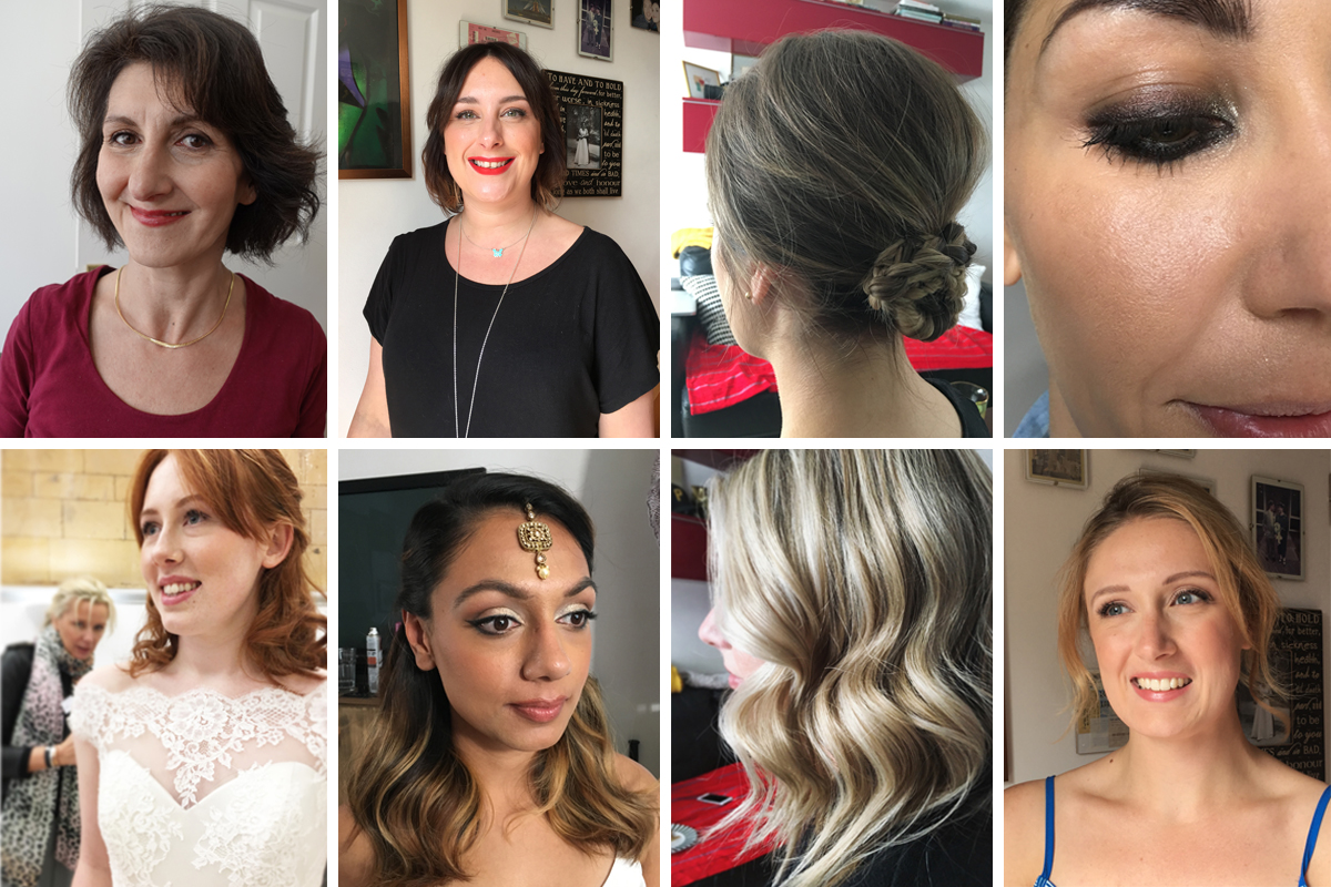 personalised one to one makeup lesson and wedding hair and makeup london surrey sussex hampshire berkshire
