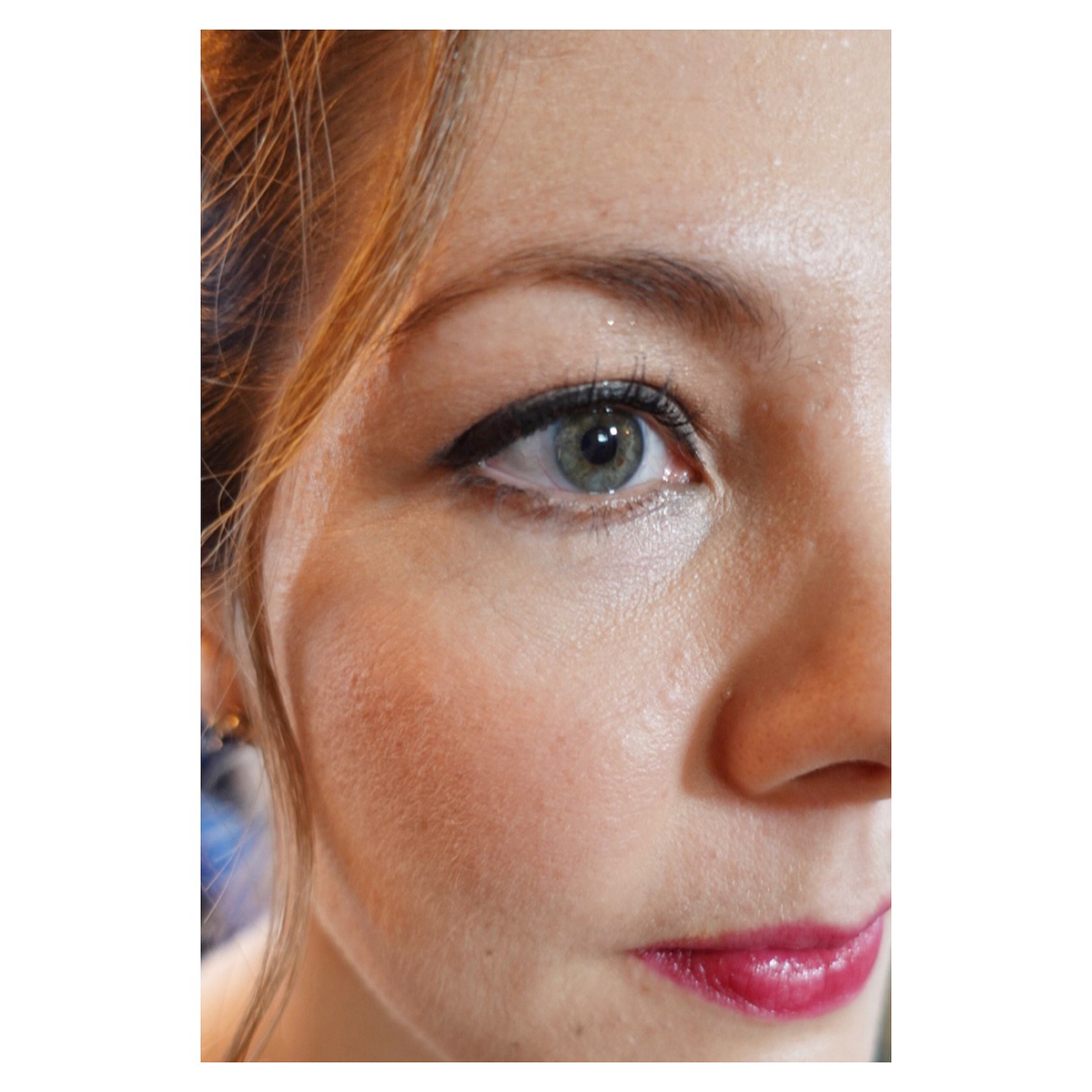 subtle pretty defined wedding makeup bridesmaid london sussex hampshire surrey